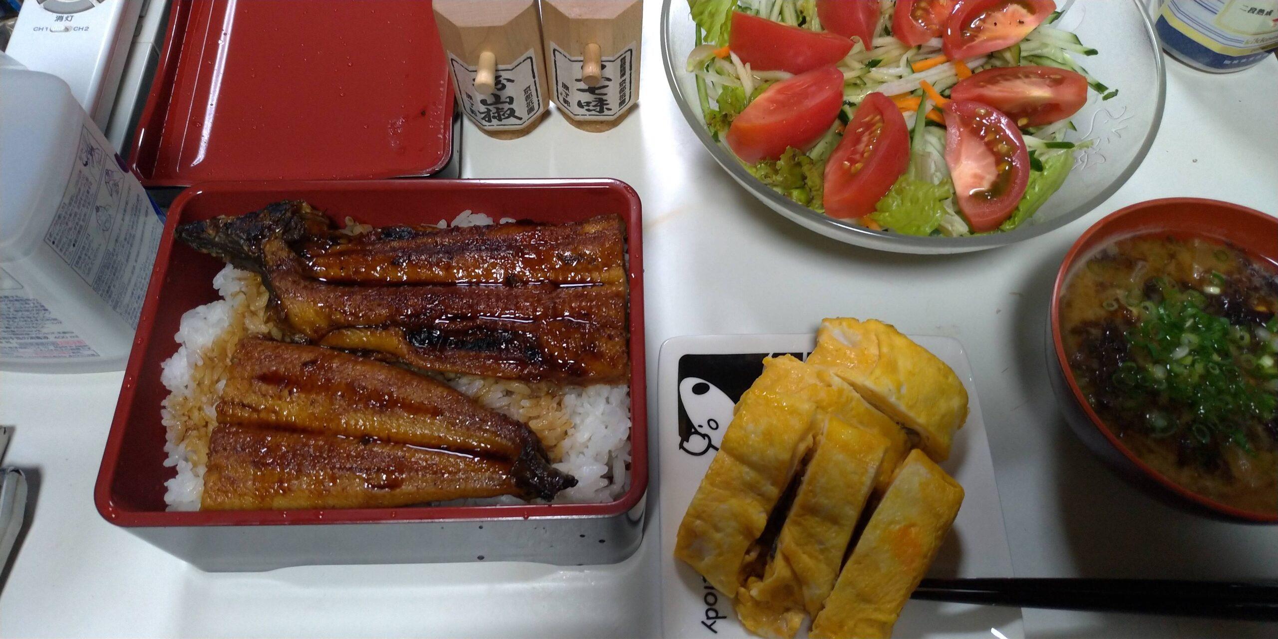 【画像】鰻重つくったから食べるよ