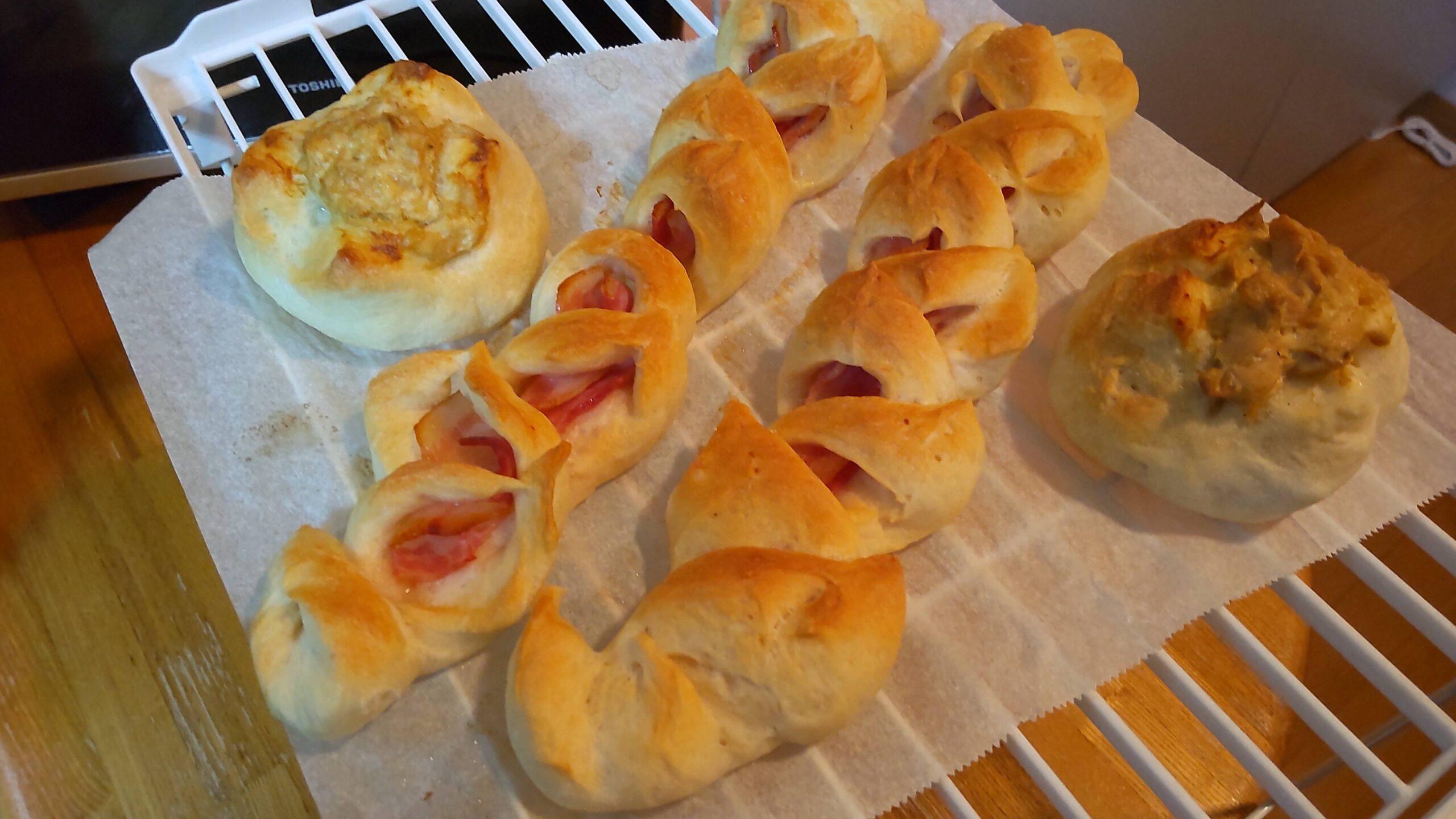 【画像】パン、焼ける