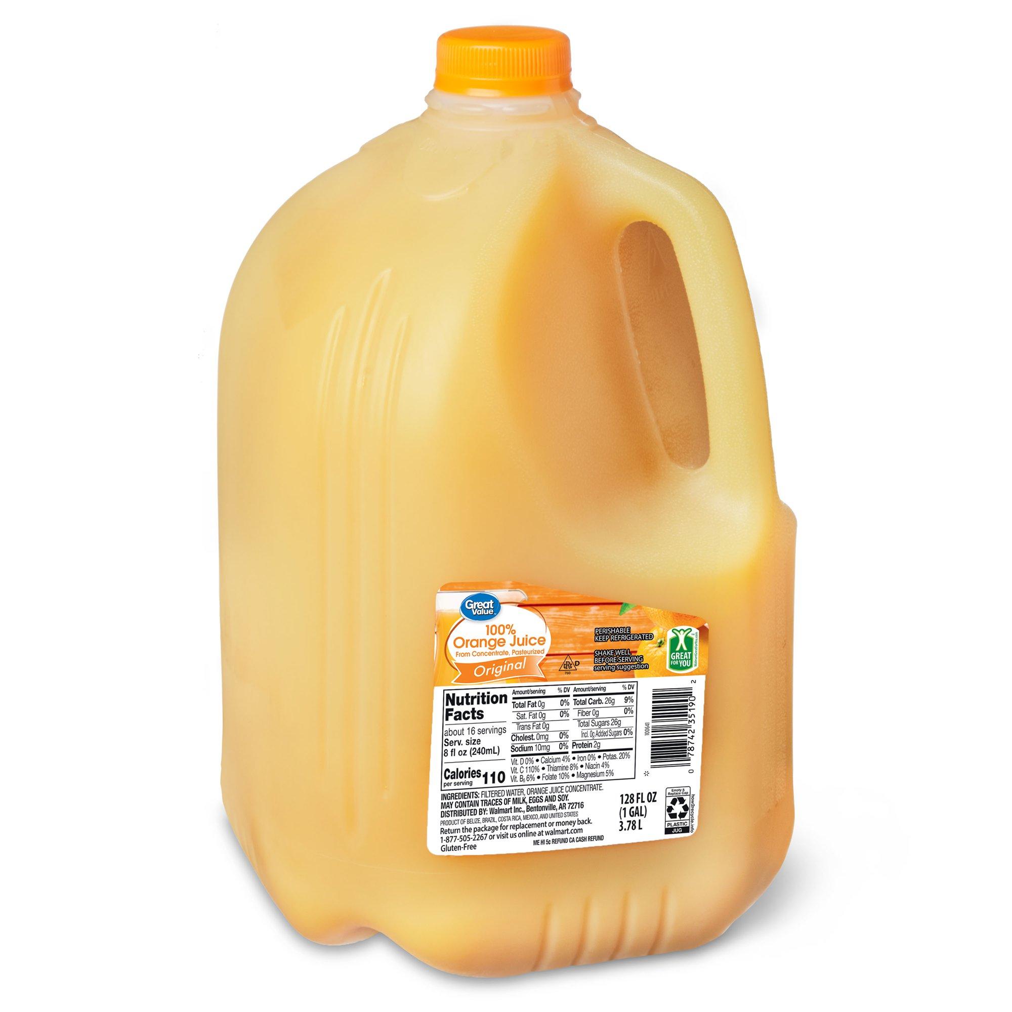 アメリカのオレンジジュースがこれ