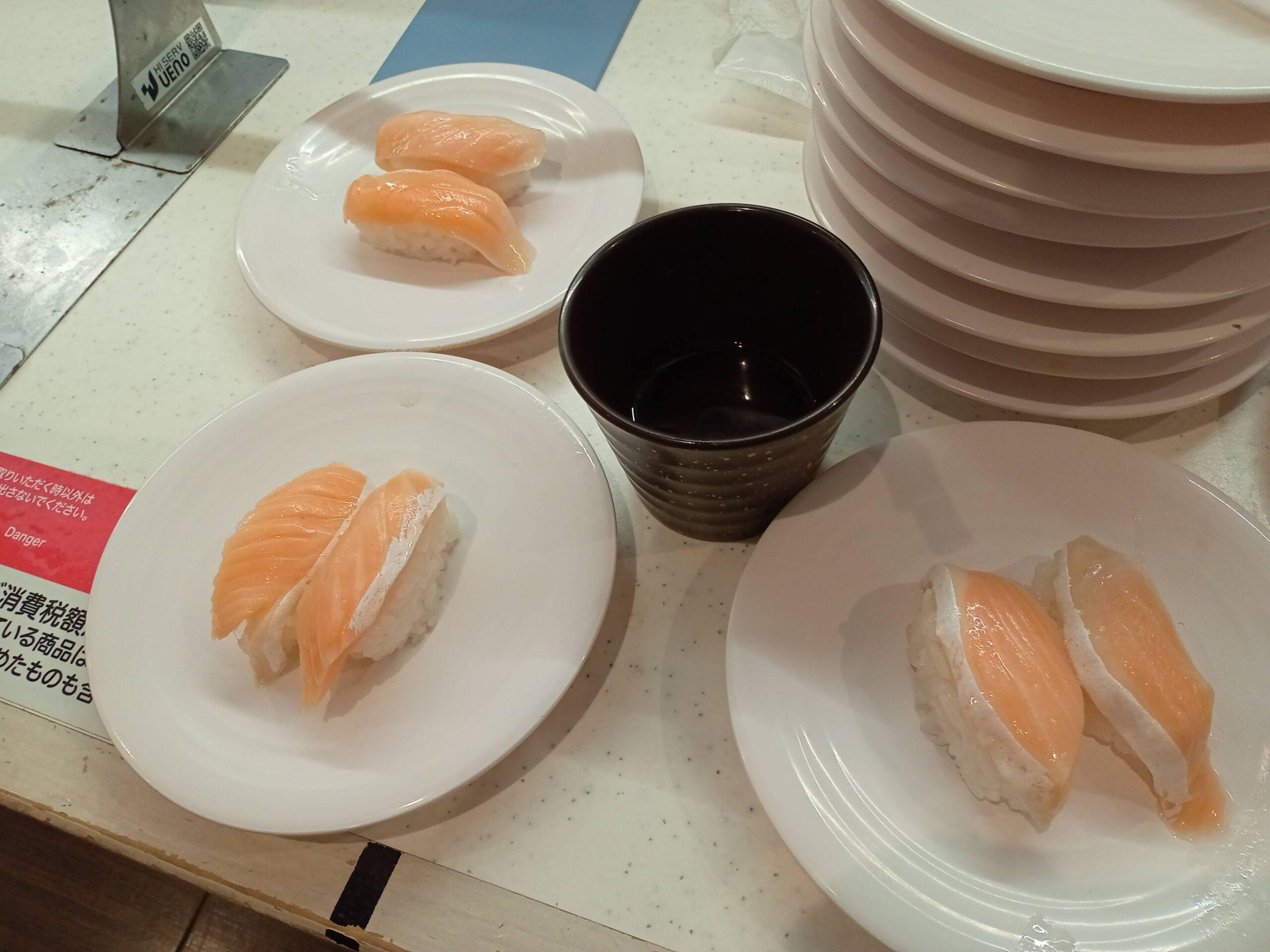 【画像】振られたからかっぱ寿司にやってきたやで