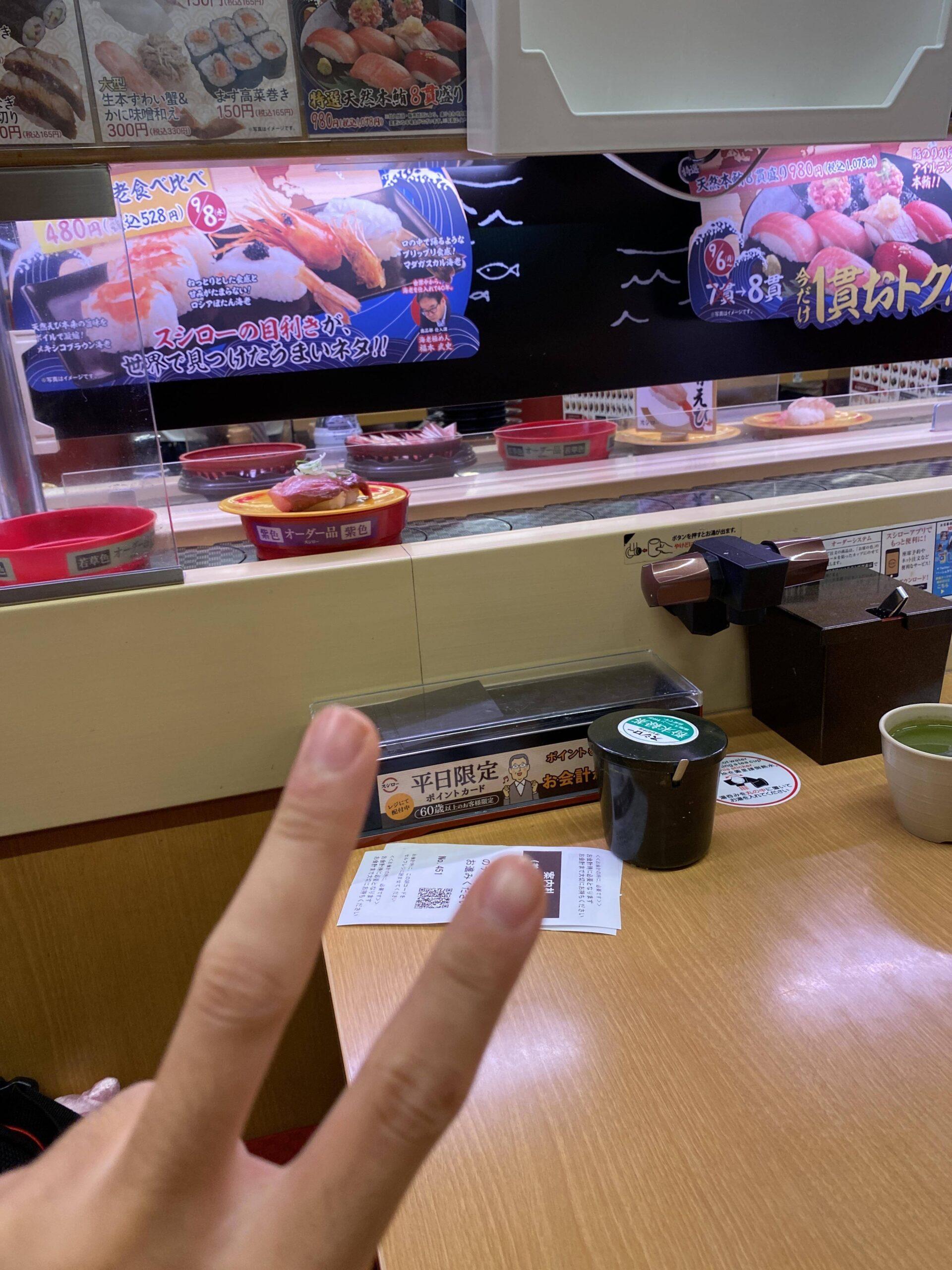 【画像有】寿司屋来たから安価で決める