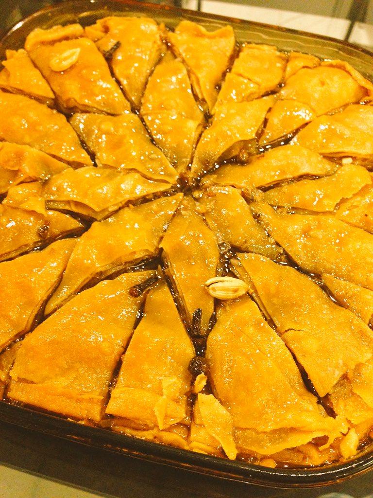 【画像有】トルコのお菓子バクラヴァをつくりますわよ!!!!!