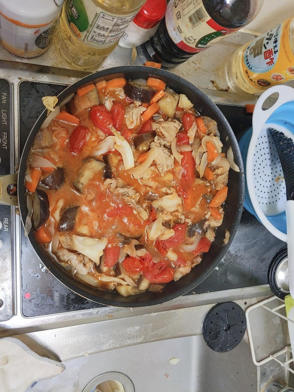 【まったり】ワイくんの夏野菜カレーづくり